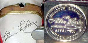 Fraley Intro Edition, Signature and Coin